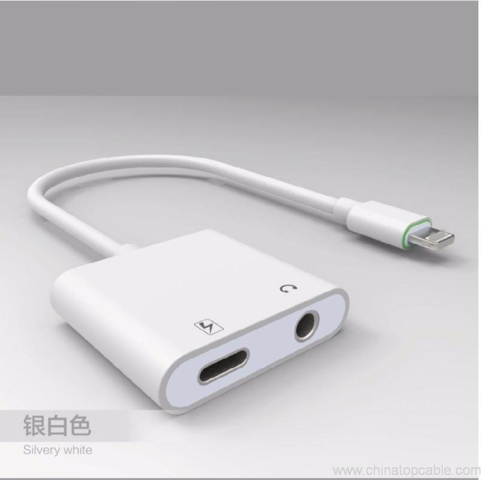 adaptateur de connecteur splitter audio et de charge pour iphone 7 hengye cable factory store. Black Bedroom Furniture Sets. Home Design Ideas