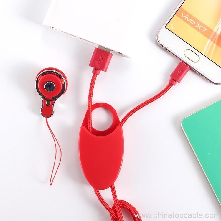 Activ USB - micro USB Cabelet Mono White 46892