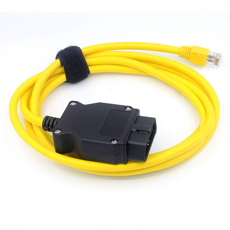 Ethernet to OBD2 For BMW F Series E-SYS ICOM 2 Coding ESYS ICOM Diagnostic  Tool ENET Cord Without CD
